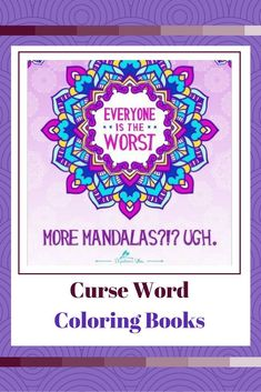 A litte naughty and a whole lot of nice these curse word coloring books are the epitome of funny.  This is a great way to showcase your inner wild side in a relaxing and healthy manner.  These make for a cool hobby and some really fun adult coloring books