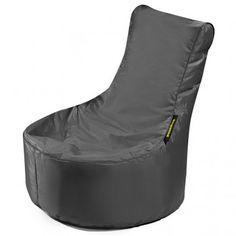 #Kindersitzsack von Pushbag - Small Seat: Schwarz
