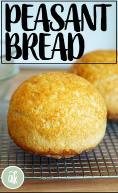 No-knead peasant bread — the best, easiest bread you will every make. This bread takes five minutes to whisk together — there's no need to flour a work surface or get your hands dirty. This bread might just change your life. #peasantbread #bread #noknead #diy #breadbaking
