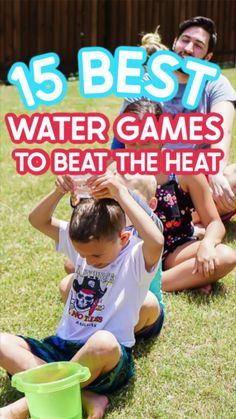 Family Fun Games, Kids Party Games, Summer Party Games, Summer Camp Games, Kids Camp Games, Birthday Games For Kids, Toddler Games, Kid Games, Summer Camp Activities