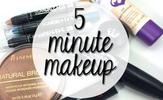 5 Minute Makeup Look - Hairspray and Highheels