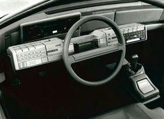 1983 Alfa Romeo Delfino interior.