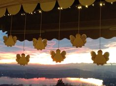 Angeli al tramonto!
