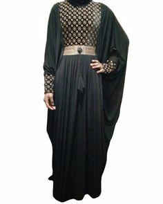 Farasha Abaya, Dresses With Sleeves, Long Sleeve, Fabric, Collection, Fashion, Tejido, Moda, Tela