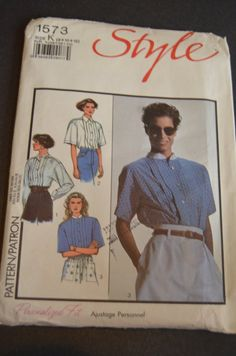 Style 1573 Misses  Set of Shirts Sewing by DestinedRendezvous