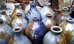 Wood fired pots by oakislandtreasure, via Flickr