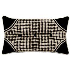 cute houndstooth pillow $119 at Ballard Designs :)