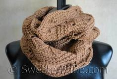 Knitting Patterns - Bestselling Cowls to Knit Now from SweaterBabe.com