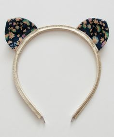shopminikin - Woodstock London Liberty Kitty Headband, Ava (http://www.shopminikin.com/woodstock-london-liberty-kitty-headband-ava/)