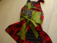 APRONS BATIK HOSTING Aprons..Flowers In The by LucysLitlBoutique