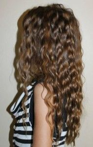 Tips & Tricks to achieve flawless Crimped Hair | Visit: http://www.cliphair.co.uk/hair-extensions-news/hair-extensions/trend-alert-crimped-hair/