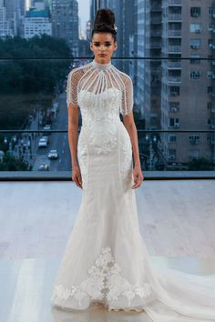 a04f1b63b9c Ines Di Santo Fall 2018 Bridal Collection - Aisle Perfect Wedding Dress  Trends
