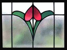 Hand crafted stained glass windows.