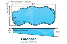 Viking Pools | Coronado -Come see us at 2640 Quality Court Virginia Beach VA 23454 or Give us a call at (757) 463-0600. www.thepoolguyz.com