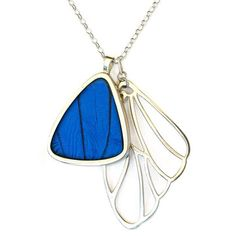 Morpho Didius Cluster Necklace, $265, now featured on Fab.