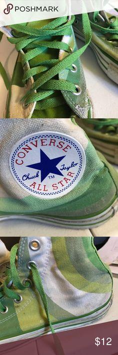 b8f9c740200b8c Converse Hi top All Star shoes Converse Hi top All star tennis shoes . In  stripes