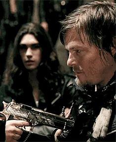 "Norman Reedus in video ""Judas"" Lady Gaga Daryl Dixon Walking Dead, The Walking Dead, Judas Lady Gaga, Norman Reedus, Jon Snow, Fictional Characters, Delish, Fandoms, Sky"