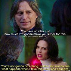 "#OnceUponATime 4x19 ""Sympathy for the De Vil"" - Rumple and Regina"