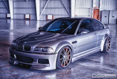 E46 M3 on Vossen CV4