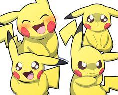 Pichu Pikachu Raichu, Pokemon Eeveelutions, Cute Pikachu, Neko, Cute Pokemon Pictures, Marvin The Martian, Wallpaper Ideas, Softies, Cute Pokemon