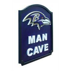 Baltimore Ravens Man Cave Shield Art Sign