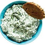 Healthy Dips: Creamy Spinach and Parmesan Dip