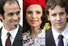 Martin, Ines, and Juan Zorrequietta, brothers and sister of Queen Maxima