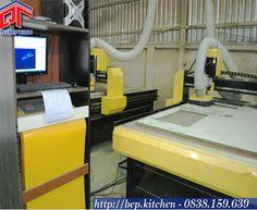 Cận cảnh bộ điều khiển máy CNC