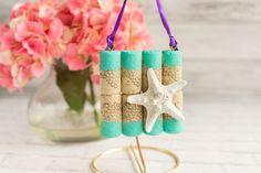 Mini Wine Cork Starfish Beach Art Tutorial