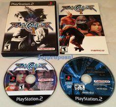 Soul Calibur II (Sony PlayStation 2, 2003) Fighting + Namco Transmission V1.03