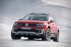 Volkswagen's Tiguan GTE Active Is A Hybrid Off-Roader For The Great Outdoors