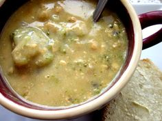delightful country cookin': best broccoli-cheese soup ever!
