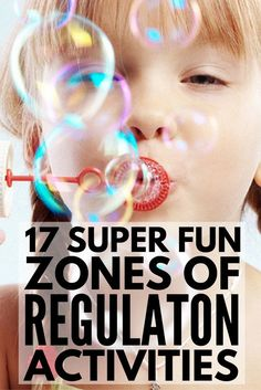 17 Zones of Regulation Activities | Trying to teach self-regulation in the classroom or at home? These ideas, lesson plans, worksheets, games, and activities teach kids self-control and self-discipline while also helping them practice their social skills. Perfect for preschool, kindergarten, and elementary school, NT kids and children with autism and other special needs, these activities are great for parents and teachers alike!