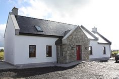 Related image Cottage Extension, Ireland Homes, Bungalow, Exterior, Cabin, Doors, Mansions, House Styles, Google