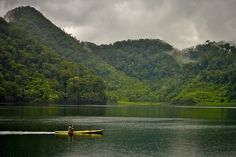Twin Lakes, just outside of Dumaguete City in the Negros Islands of the Philippines.