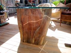 Amish Rustic Dining Table 48 Quot Round Tree Trunk Stump Root