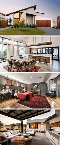 Bletchley Loft by The Rural Building Company in Perth, Australia Luxury homes – The beauty of a magnificent house is Modern Kitchen Design, Modern House Design, Building Companies, Exterior Design, Luxury Homes, Beautiful Homes, Architecture Design, House Plans, New Homes
