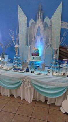 Frozen Birthday Party Ideas   Photo 2 of 9   Catch My Party