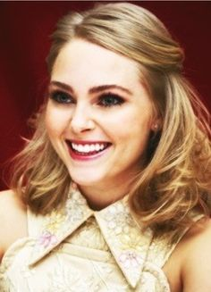 Annasophia Robb would be a good choice for the part of Alice because she displays the youthfulness of Alice and looks like a bright person. Not only does she look the part, but she also has the acting experience to back it up. Alice is a young girl who is curious, adventurous, and brave. From the types of movies Robb has acted in, such as Bridge to Terabithia, she definitely has an idea how this type of movie works.