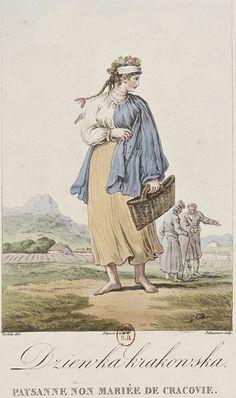 File:Norblin - Unmarried peasant from Krakow.jpeg