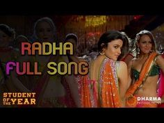 MOVIE: Student Of The Year - SONG: Radha  - ACTORS: Sidarth Malhotra, Alia Bhatt & Varun Dhawan **CLICK YOUTUBE TAB ON VIDEO SCREEN TO WATCH ON YOUTUBE**