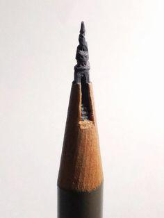 Micro carvings by Artist Tukari Ehara