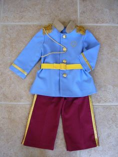 Prince Charming Childrens Costume Sizes by ANeedlePullingThread, $59.00