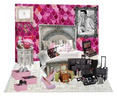 """Pink dream"" by mmsbeg ❤ liked on Polyvore featuring art"