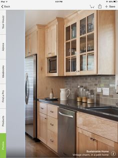 light maple cabinets i would like sometime that wont go out of style would love to see pics and hear your suggestions cabinets like pic below light stained maple kitchen cabinets Birch Cabinets, Light Wood Cabinets, Maple Kitchen Cabinets, Light Wood Kitchens, Shaker Cabinets, Galley Kitchen Design, Kitchen Redo, New Kitchen, Kitchen Remodel