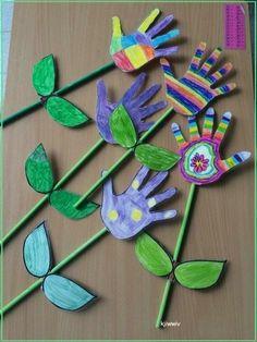 Spring Crafts For Kids, Summer Crafts, Crafts For Teens, Diy For Kids, Diy And Crafts, March Crafts, Spring Crafts For Preschoolers, Creative Crafts, Children Crafts
