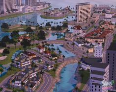 The Sims 3 Vice City World