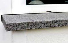 Fensterbank Granit Nero Impala außen
