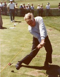 Moe Norman 1984 Golf Lesson Photo Explaining Position   eBay