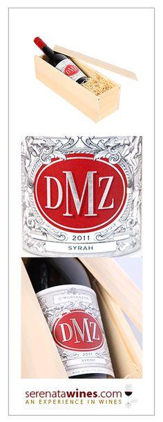 2011 DMZ Syrah, 1 bottle, standard price: £22.99 #southafrica #wine #gift South African Wine, Wines, Bottle, Flask, Jars